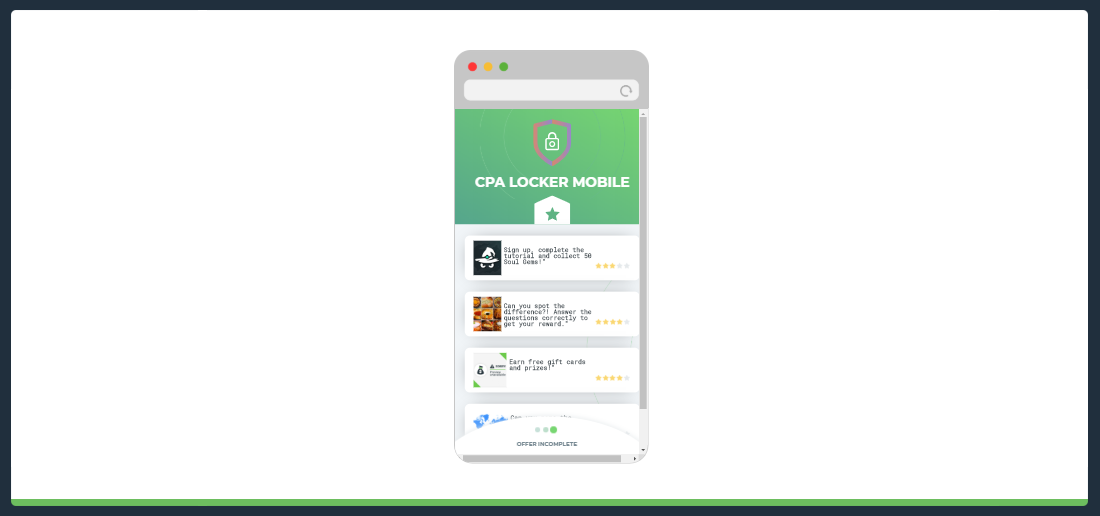 CPA Locker Mobile
