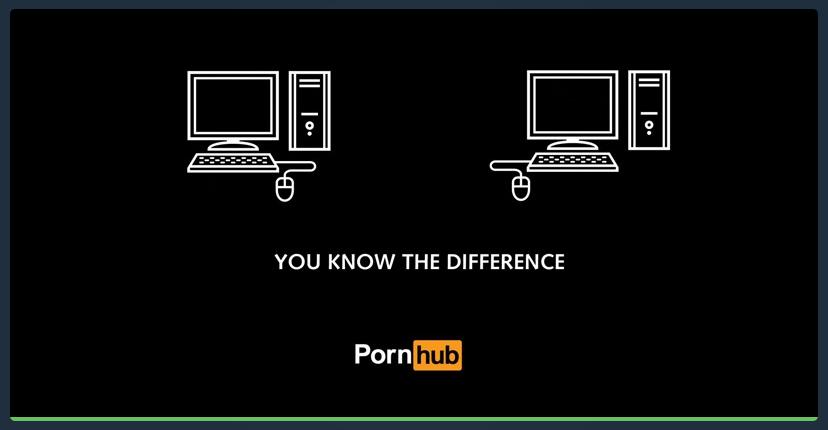 Pornhub marketing