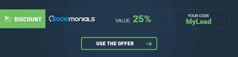Socialmonials Discount