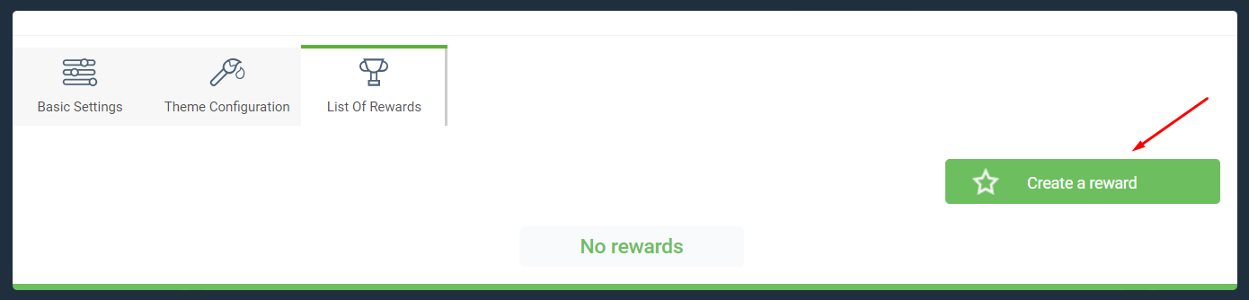 Create a reward button