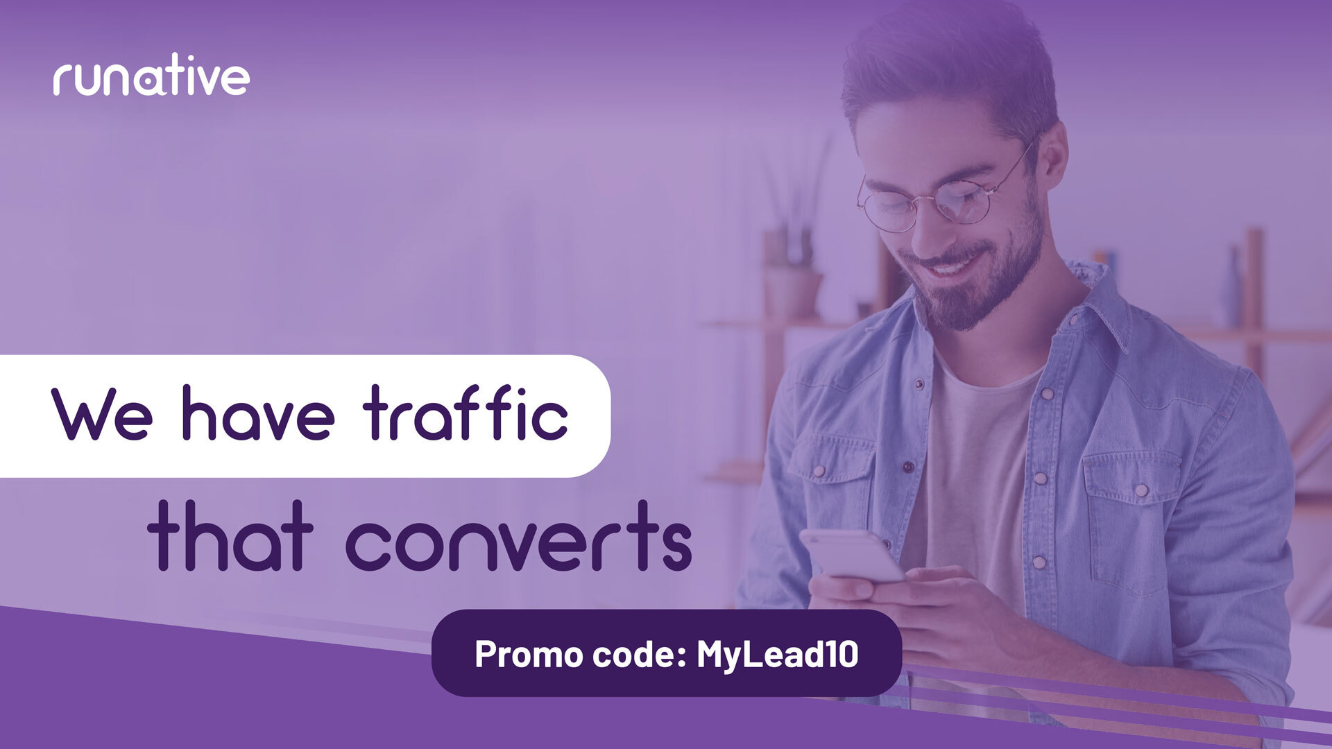 How to start generate traffic with Runative