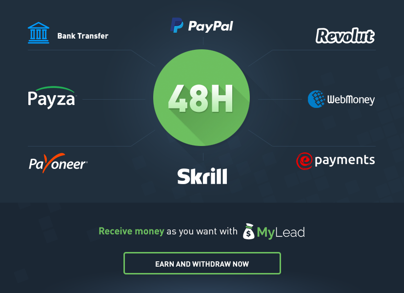 MyLead   a global affiliate network   WE GIVING BONUSES   YOU WILL EARN MORE
